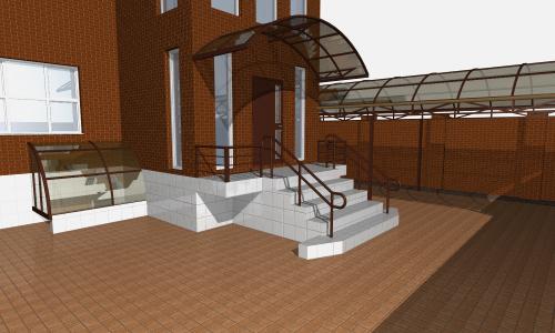 Каркасный дом из поликарбоната - Каркасный Дом Своими Руками 13