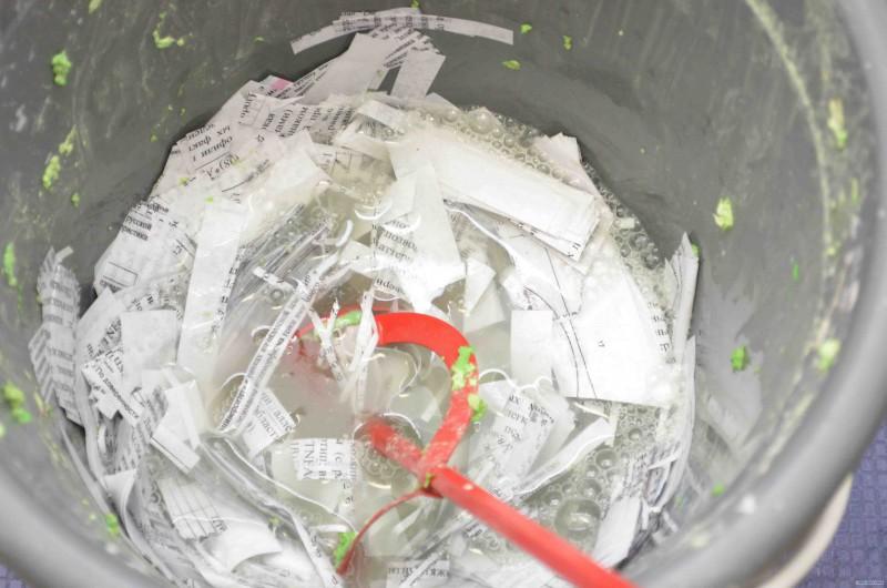 Как сделать обои  из бумаги