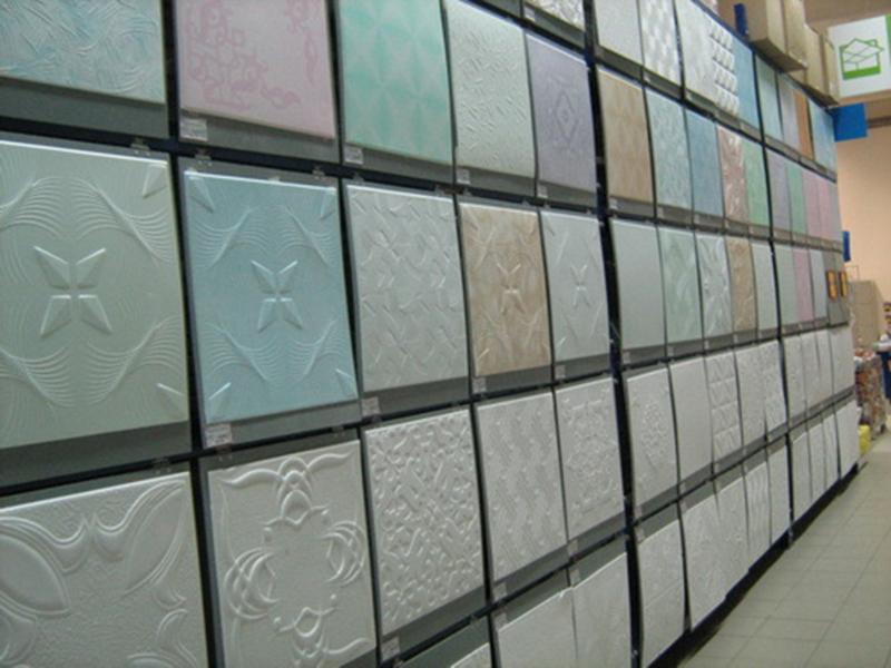 Квадраты на потолок