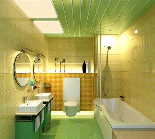 Как сделать потолок из пластиковых ПВХ панелей своими руками, Строительный портал