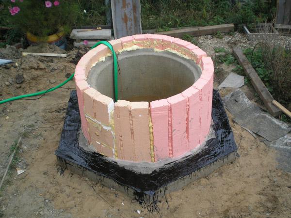 Как самому сделать бетонную крышку для колодца