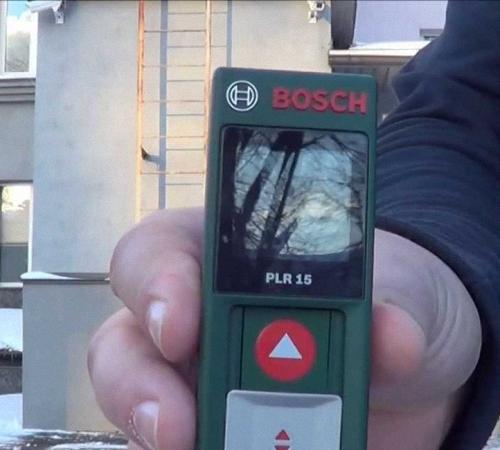Инструкция по эксплуатации Лазерной Рулетки Bosch