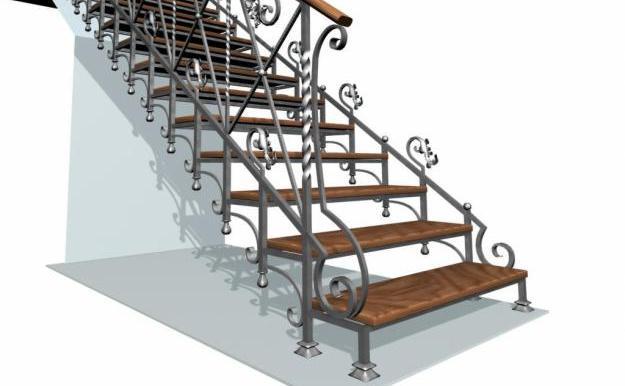 Фото кованных лестниц своими руками