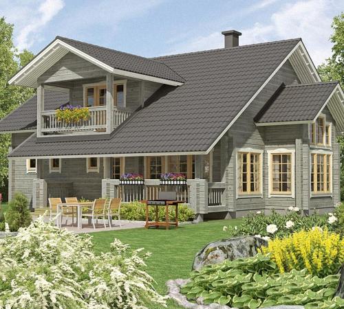 Чем покрасить деревянный фасад дома своими руками