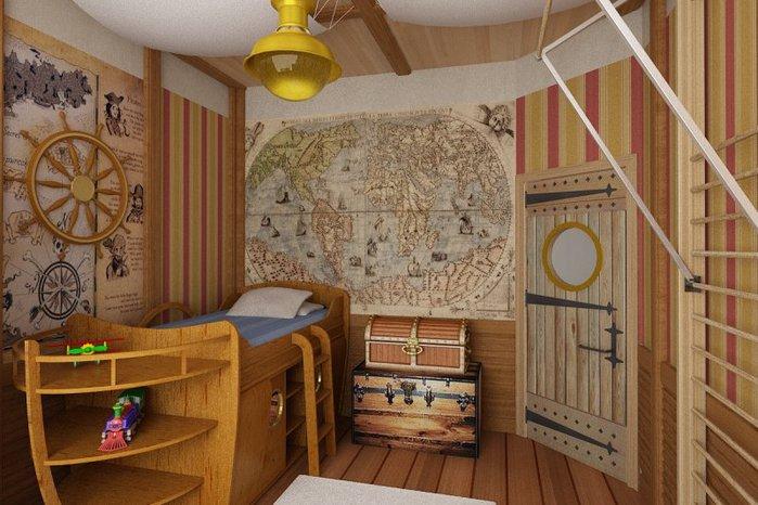 Как сделать детскую комнату фото фото 264