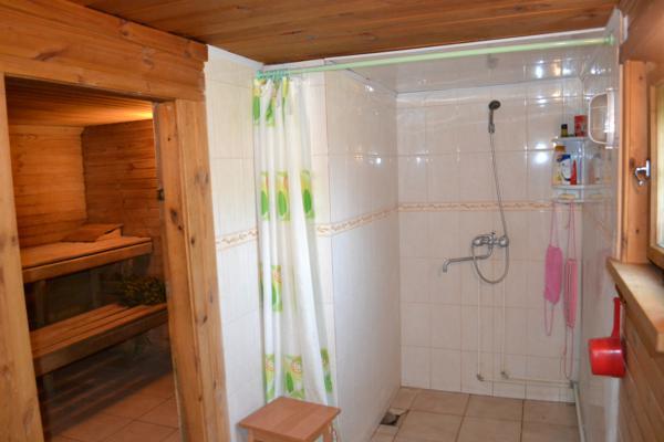 Делаем душ в бане своими руками