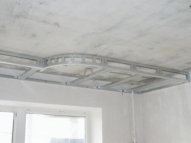 Как сделать из гипсокартона второй уровень потолка из гипсокартона