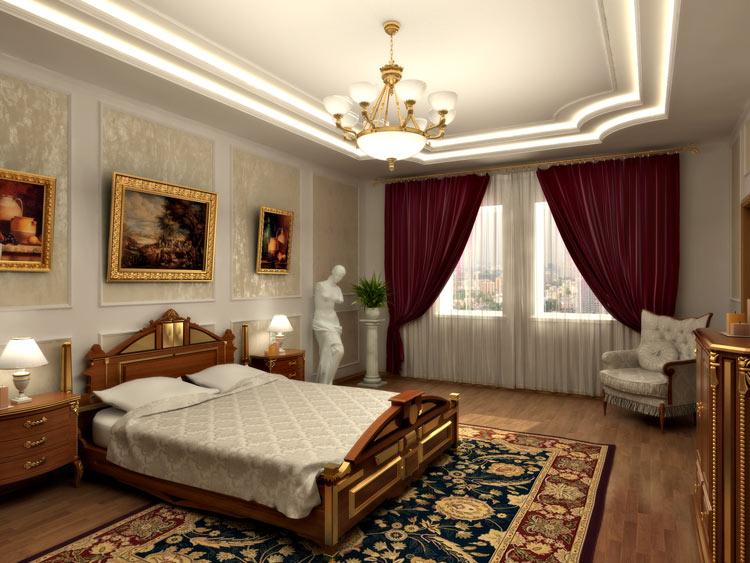 Комната в классическом стиле своими руками