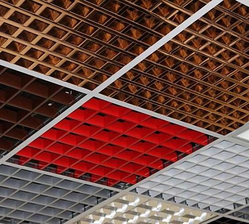 Потолки грильято: устройство, технология и схема монтажа