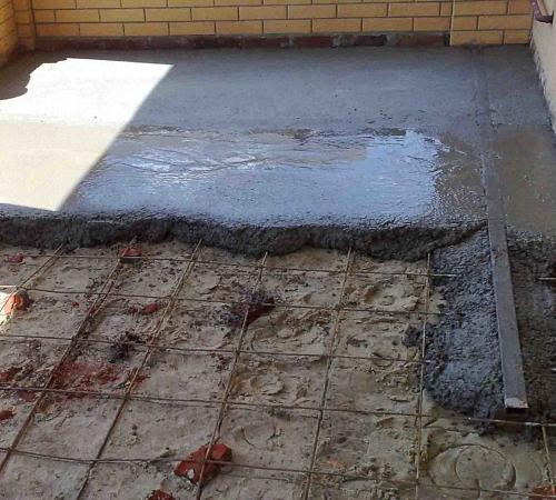 Бетонный пол по грунту: пошаговая инструкция, Строительный портал