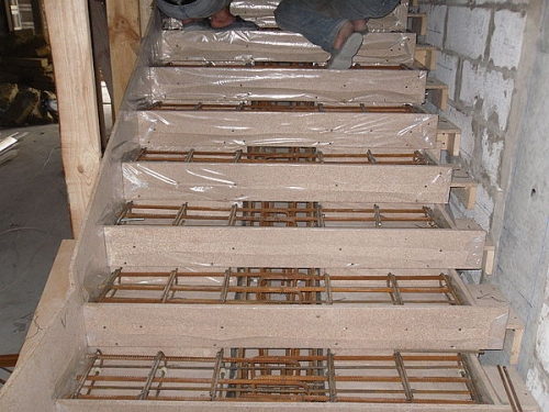 Опалубка для лестницы своими руками 439