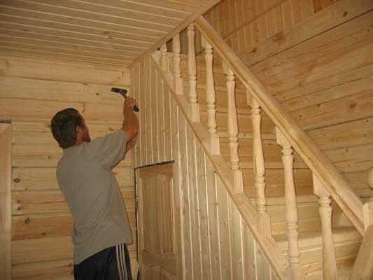 Лестницы своими руками в садовый домик 44