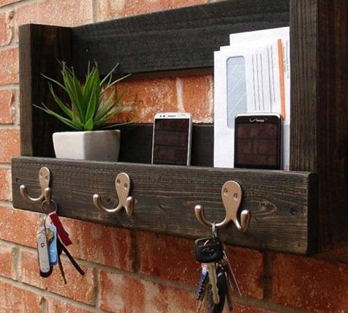 Ключницы настенные из дерева своими руками фото