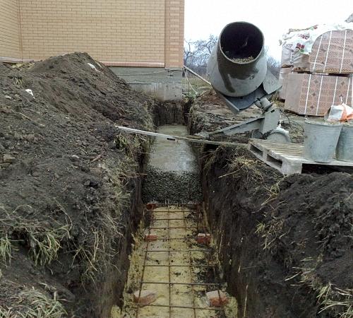 Фундаментные работы. Строительная компания КРОСТ город Красноярск