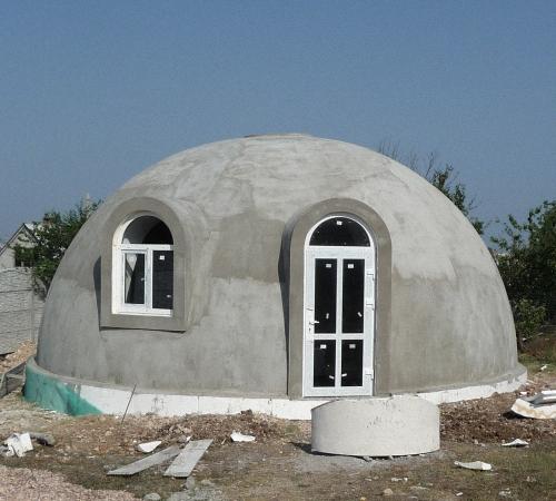 Своими руками дом купольный