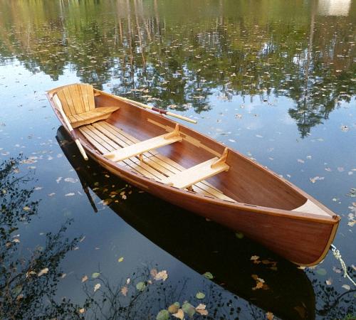 Лодка деревянная под мотор своими руками