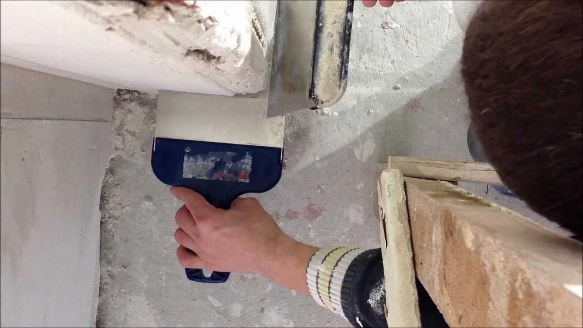 Как выровнять стены шпаклёвкой видео