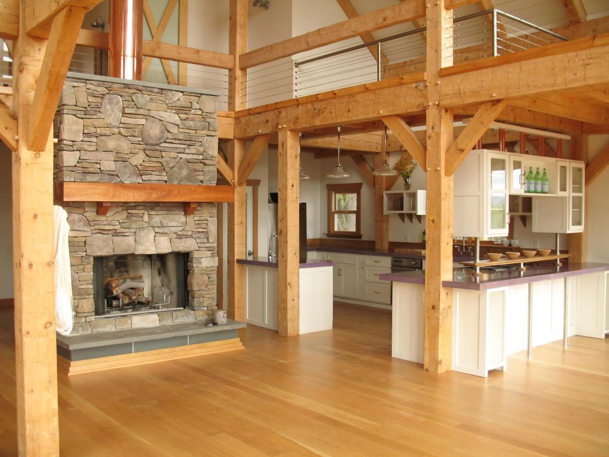 Дизайн интерьер каркасных домов