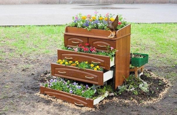 Кашпо для сада своими руками