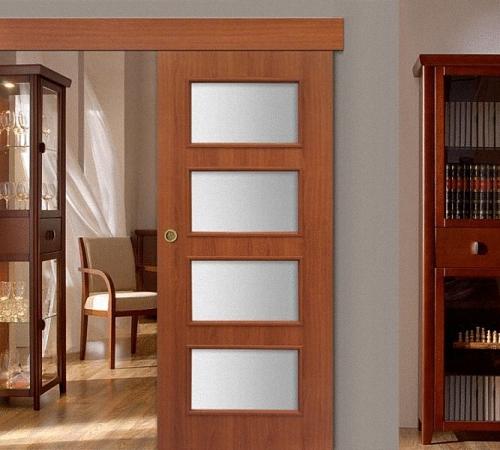 Деревянная дверь купейного типа сделать 127