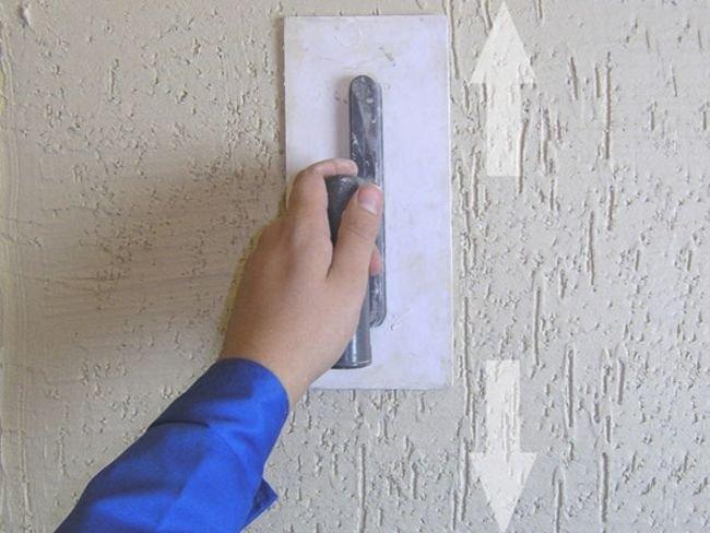 Как наносить фактурную штукатурку