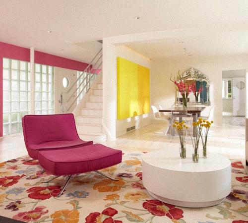 Розовая гостиная: особенности дизайна интерьера, Строительный портал