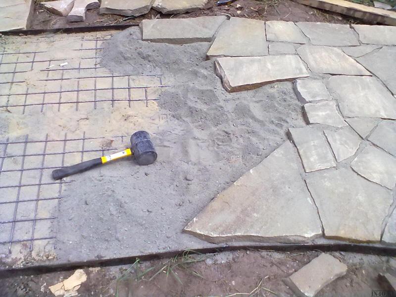 Укладка камня пластушки своими руками технология работ