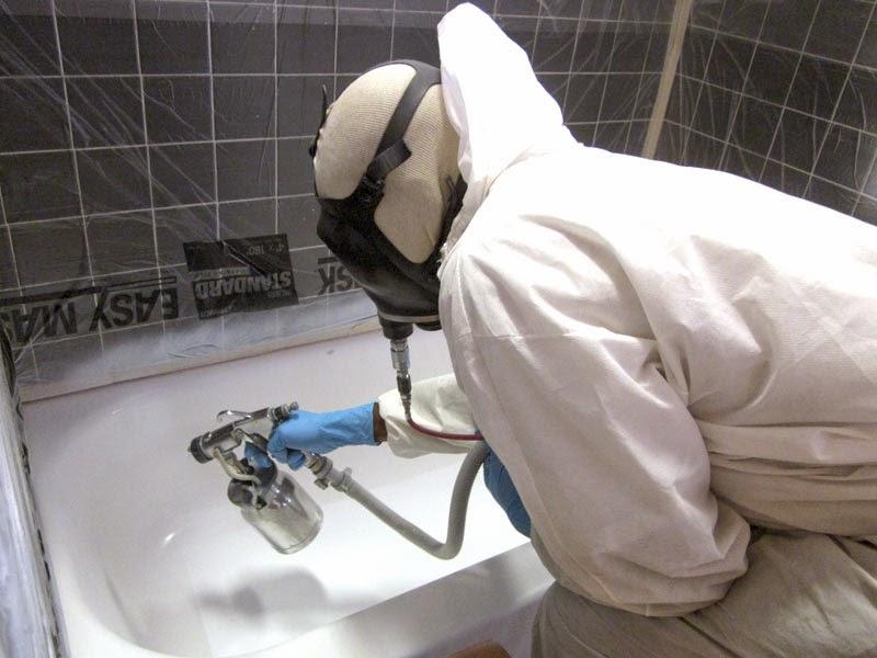 Эмалировка ванны своими руками фото