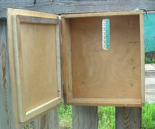 Почтовый ящик фото из дерева