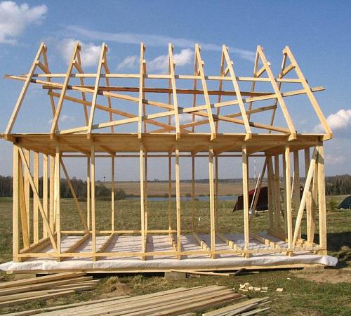 Как построить каркасный дом из металла