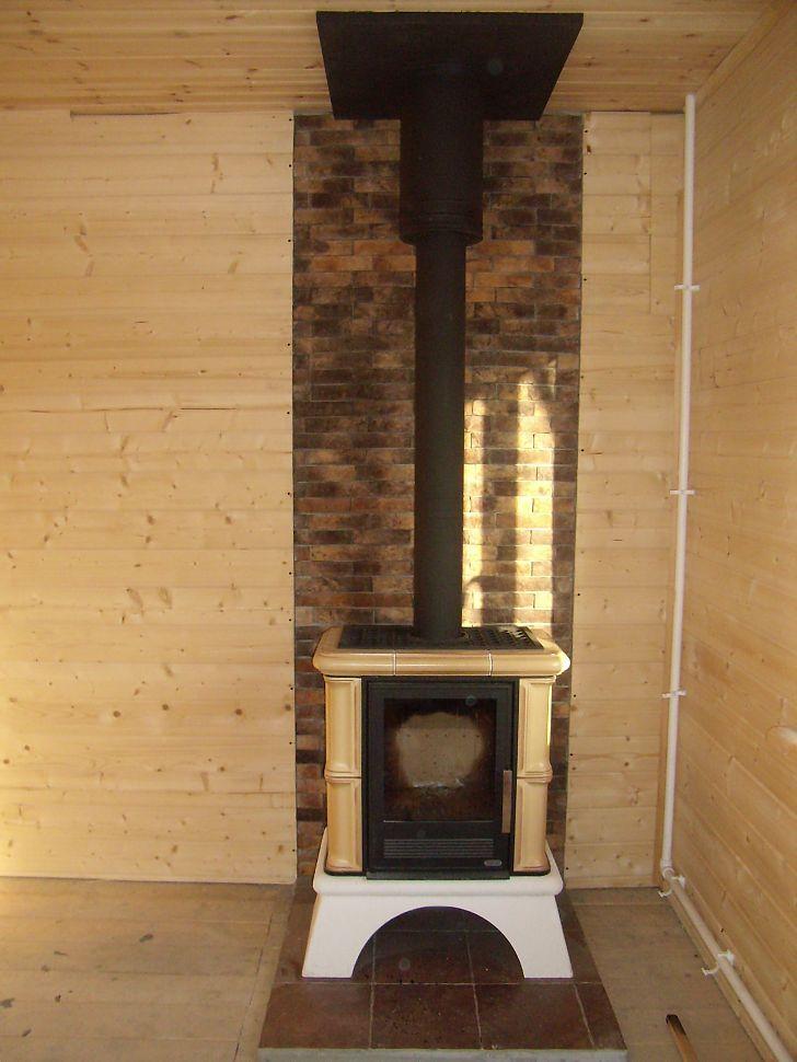 Установка металлических печей в деревянном доме своими руками