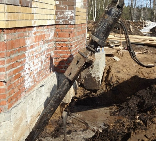 укрепление бетонного фундамента цена