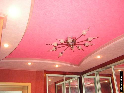 Варианты покраски потолка из гипсокартона, Строительный портал