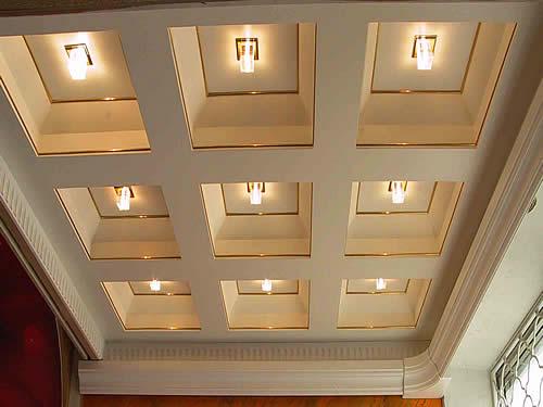 Кессонные потолок своими руками