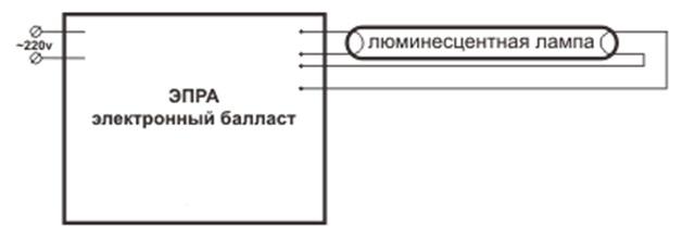 схем управления лампами.