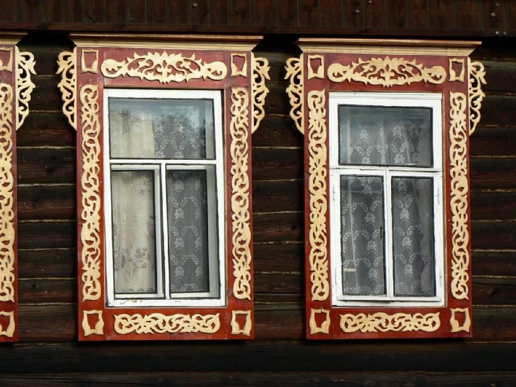 Наличники на окна простые своими руками фото 997
