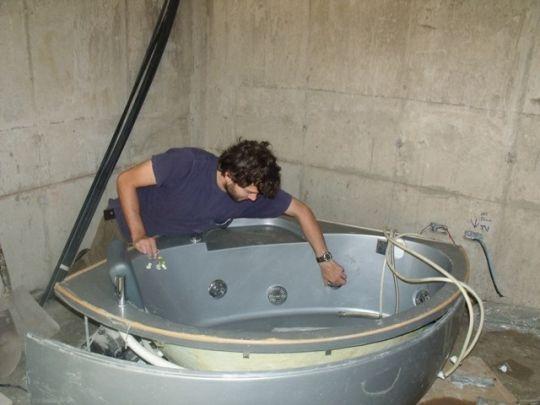Ванна с гидромассажем своими руками