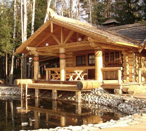 как построить дом из бревна своими руками пошаговая инструкция с фото - фото 8