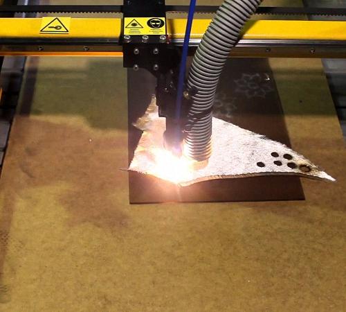 Станок для лазерная резка фанеры своими руками 69