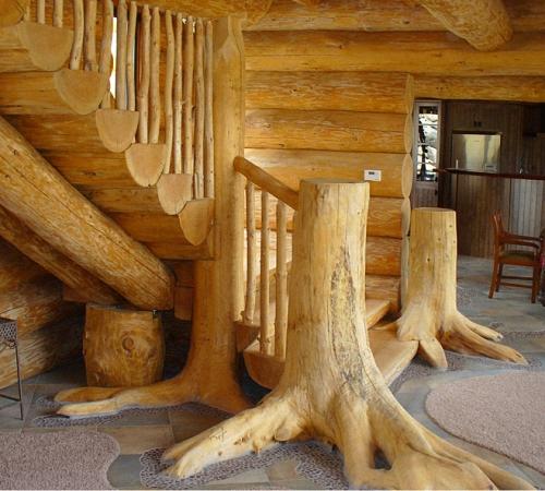 Деревянных домов из бревна своими руками