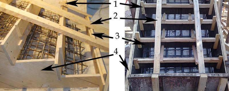 Своими руками опалубка бетонная лестница