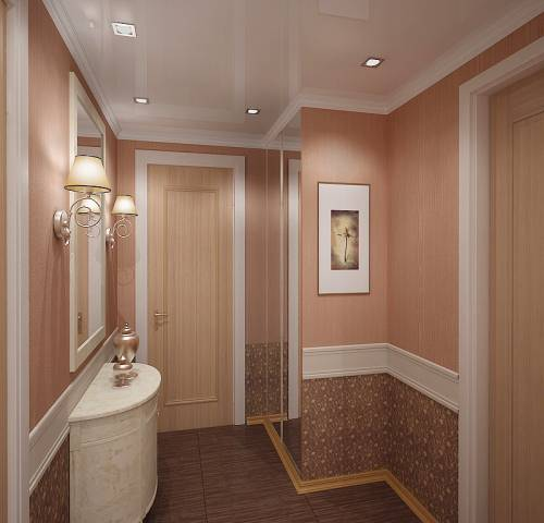 Дизайн коридора в хрущевки фото