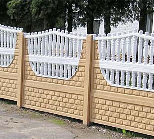Как покрасить железобетонный забор утяжелитель убо 820