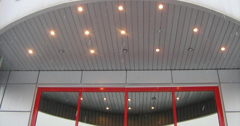 Подвесной потолок сайдингом своими руками