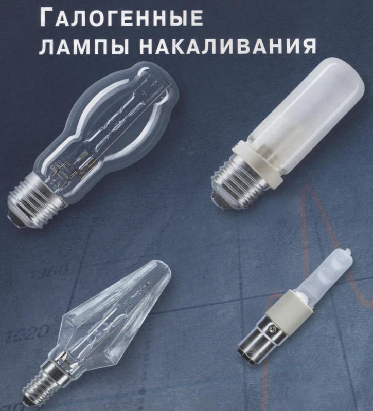 Что такое галогенная лампа?