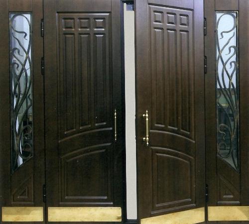 тамбурные железные двери эконом класса