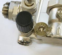 Балансировочный клапан вторичного контура