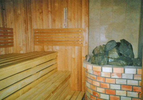 Баня из пеноблока фото видео