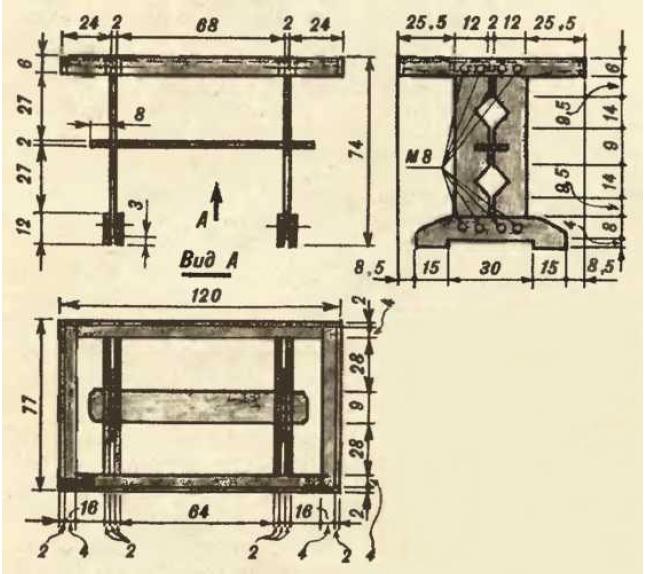 Как сделать стол своими руками из досок чертежи 73