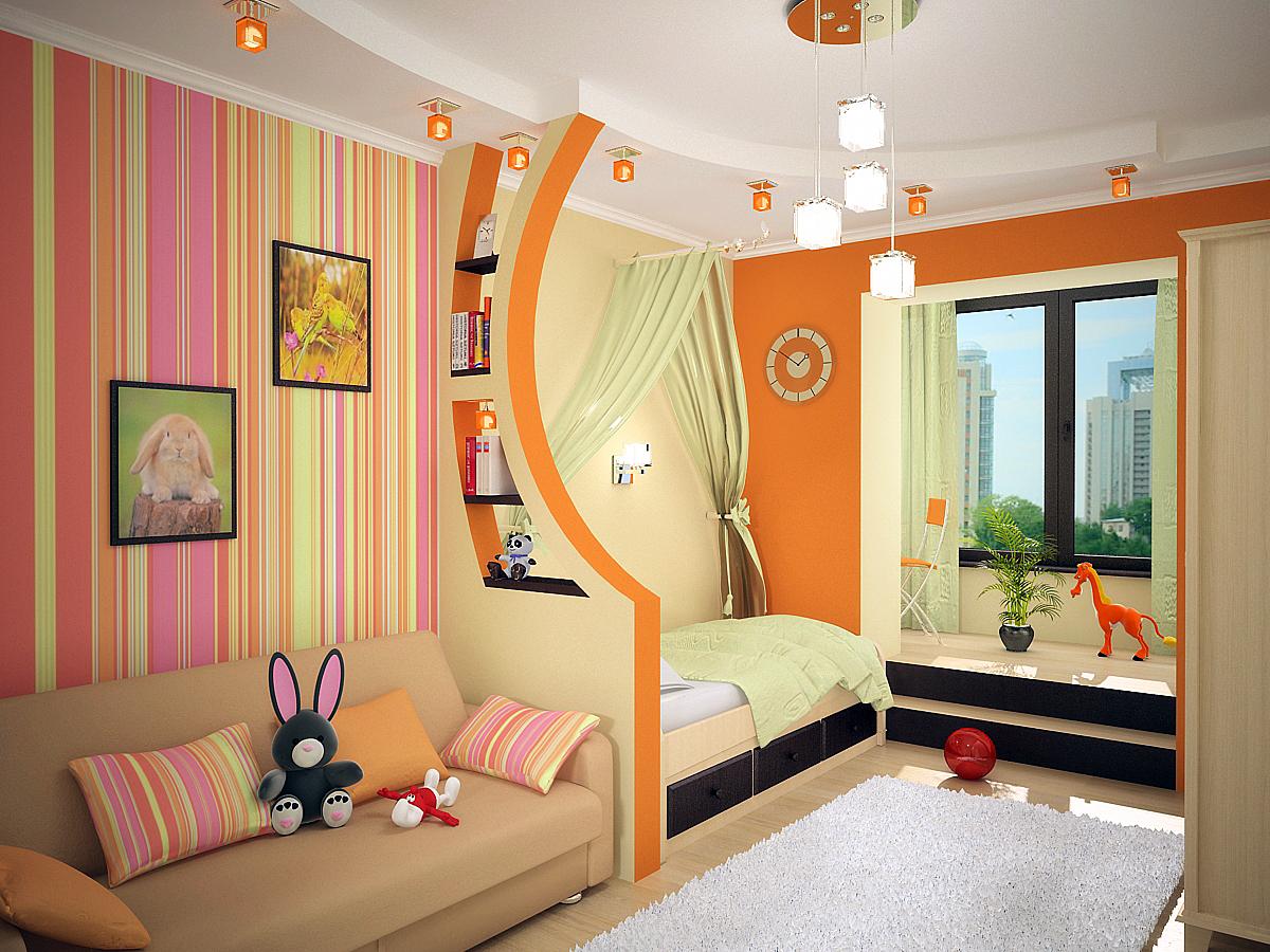 Как сделать детскую комнату
